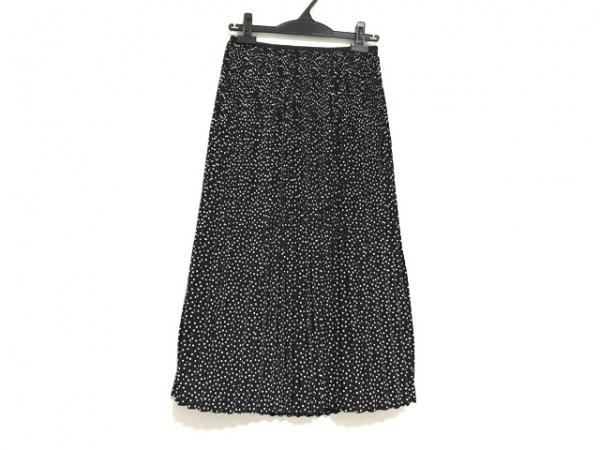 マッキントッシュフィロソフィー ロングスカート レディース美品  黒×白