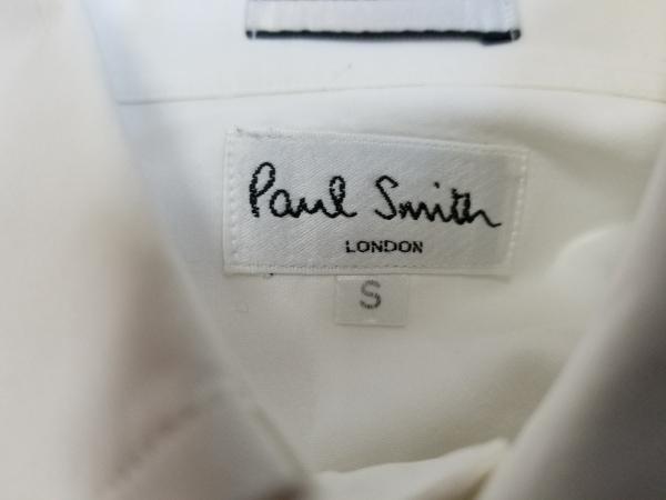 PaulSmith(ポールスミス) 長袖シャツ サイズS メンズ 白