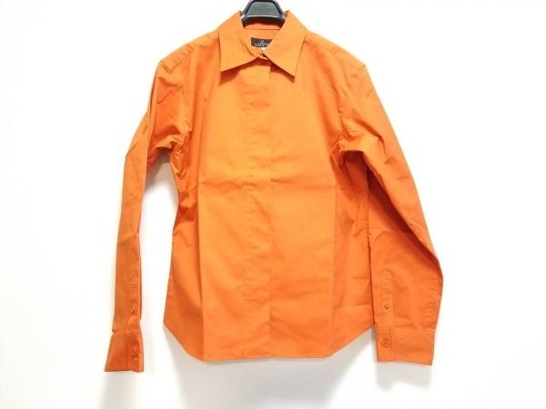 レキップ ヨシエイナバ 長袖シャツブラウス サイズ11 M レディース美品  オレンジ