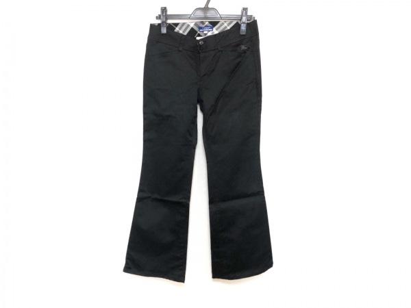 Burberry Blue Label(バーバリーブルーレーベル) パンツ サイズ38 M レディース 黒