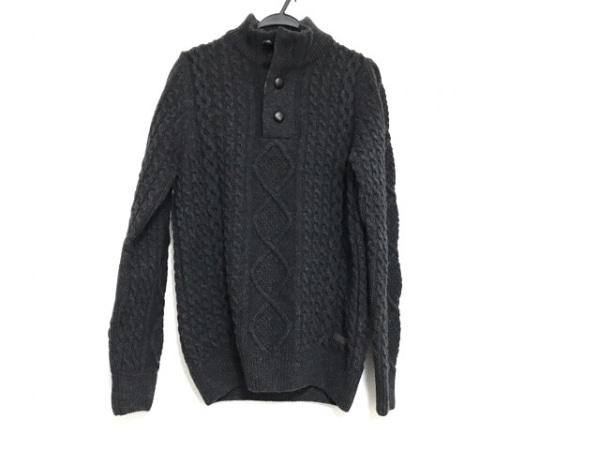 Barbour(バーブァー) 長袖セーター サイズS メンズ美品  ダークグレー ハイネック
