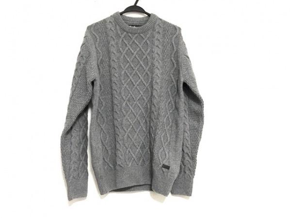 Barbour(バーブァー) 長袖セーター サイズS メンズ美品  ライトグレー ハイネック