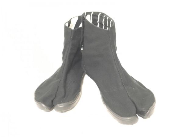 SOU・SOU(ソウソウ) 靴 24 レディース 黒 足袋 キャンバス