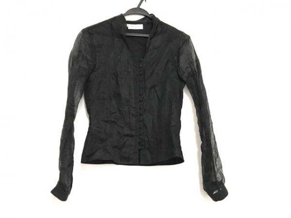 アンフォンティーヌ 長袖シャツブラウス サイズ0 XS レディース美品  黒