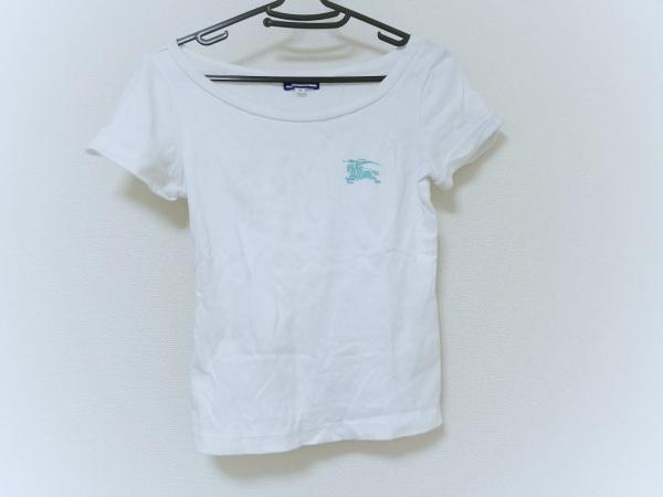 Burberry Blue Label(バーバリーブルーレーベル) 半袖Tシャツ レディース 白
