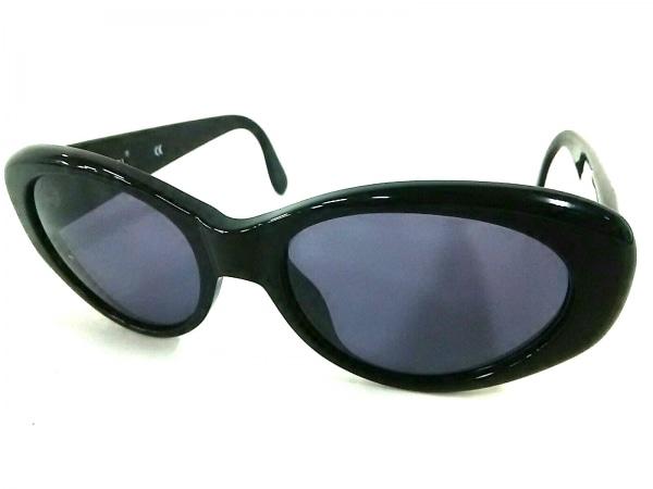CHANEL(シャネル) サングラス美品  05974 黒×ゴールド ココマーク プラスチック