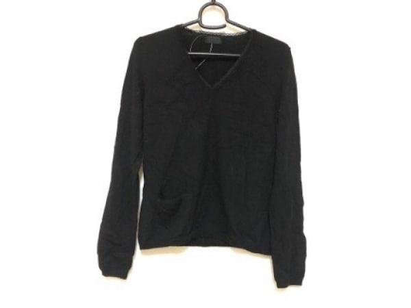 PaulSmith BLACK(ポールスミスブラック) 長袖セーター サイズM レディース 黒