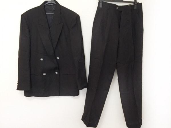 BIGLIDUE(ビリデューエ) ダブルスーツ サイズ48 XL メンズ美品  黒 ダブル/肩パッド