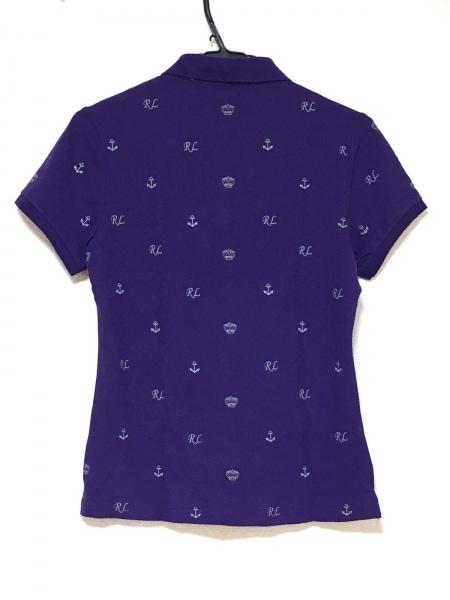 RalphLauren(ラルフローレン) 半袖ポロシャツ サイズXL レディース美品  パープル