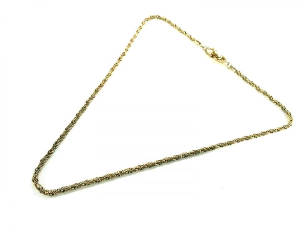 ChristianDior(クリスチャンディオール) ネックレス 金属素材 ゴールド