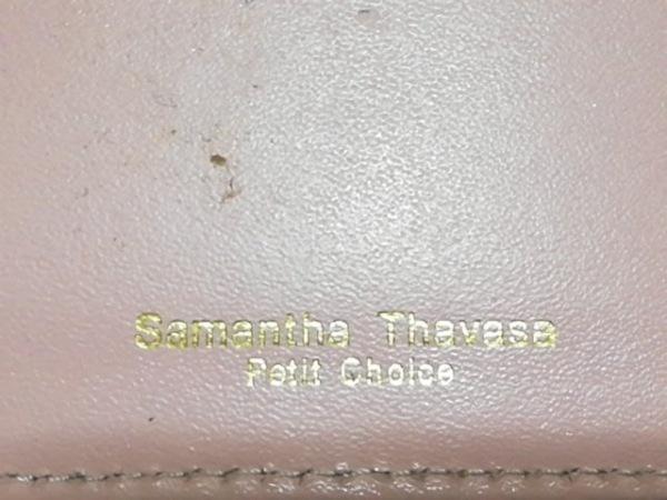 サマンサタバサ パスケース イエロー キルティング エナメル(合皮) 4