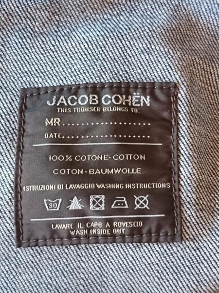 JACOB COHEN(ヤコブコーエン) ジーンズ サイズ29 メンズ ネイビー ダメージ加工