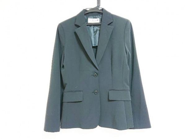 22OCTOBRE(ヴァンドゥ オクトーブル) ジャケット サイズ38 M レディース 黒