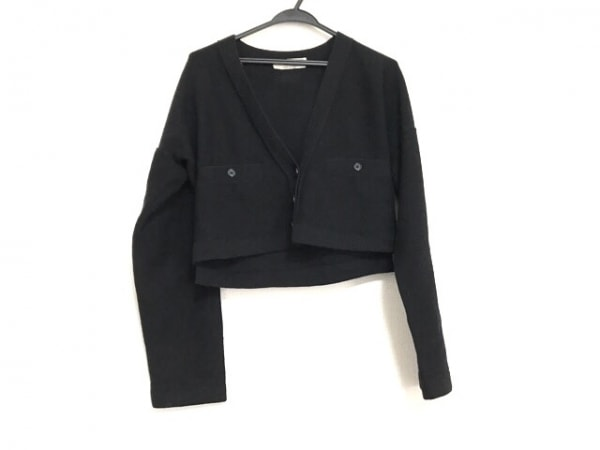 ソニアリキエル カーディガン サイズ38 M レディース美品  黒 ショート丈