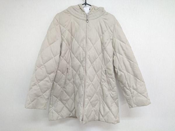 セシオセラ コート サイズ40 M レディース美品  ベージュ キルティング/冬物