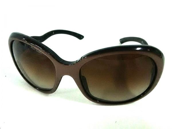 PRADA(プラダ) サングラス美品  不鮮明 黒×ブラウン プラスチック