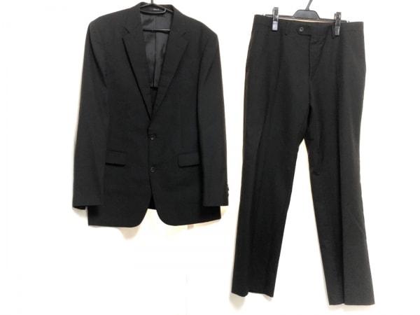 COMME CA ISM(コムサイズム) シングルスーツ サイズXL メンズ 黒