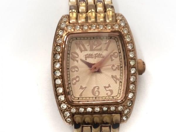 FolliFollie(フォリフォリ) 腕時計 WF5R142BP レディース ラインストーン ピンク