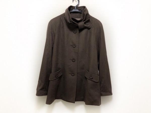 CECIOUCELA(セシオセラ) コート サイズ38 M レディース美品  ダークブラウン 冬物