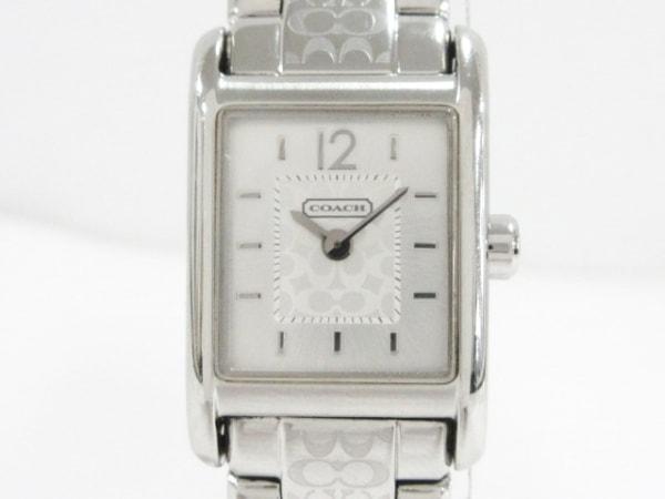 コーチ 腕時計美品  レキシントン/ミニシグネチャー柄 CA.62.7.14.0594 レディース