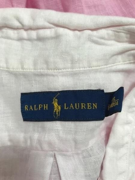 RalphLauren(ラルフローレン) 長袖シャツ サイズXXL XL メンズ美品  ピンク
