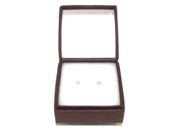 ノーブランド ピアス美品  Pt900×ダイヤモンド 7
