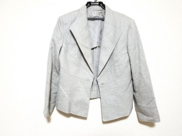 ヴァンドゥ オクトーブル ジャケット サイズ46 XL レディース美品  春・秋物/ラメ