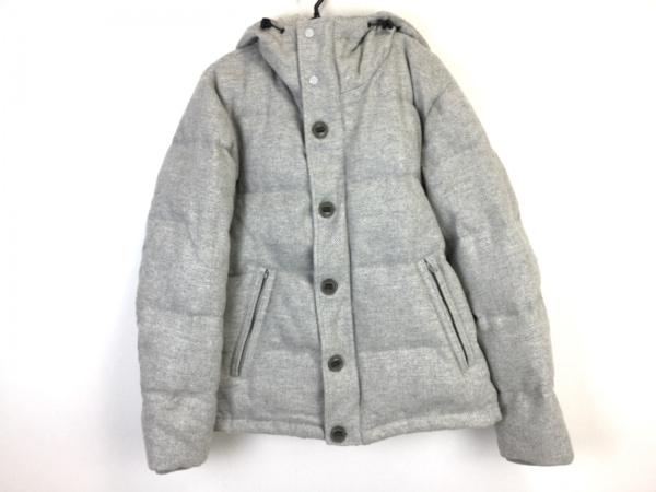 ティーケータケオキクチ ダウンジャケット サイズ3 L レディース美品  ライトグレー