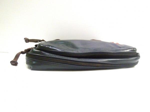 LUGGAGE LABEL(ラゲッジレーベル) ショルダーバッグ 黒 PVC(塩化ビニール)