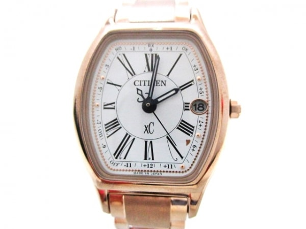 CITIZEN(シチズン) 腕時計美品  XC H060-T023371 レディース 白