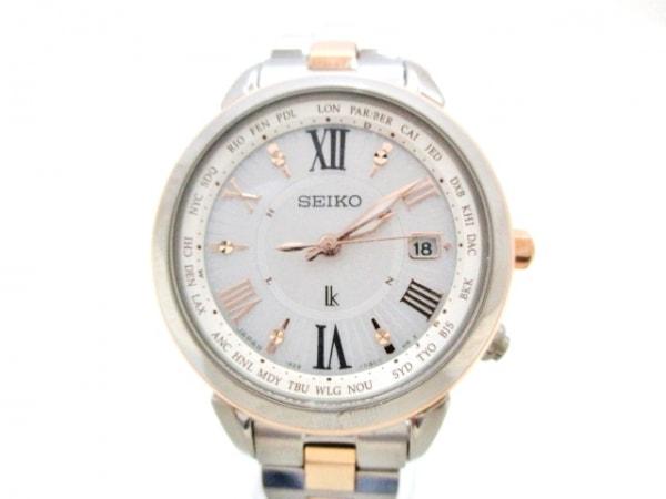 SEIKO(セイコー) 腕時計美品  ルキア 1B25-0AP0 レディース シルバー