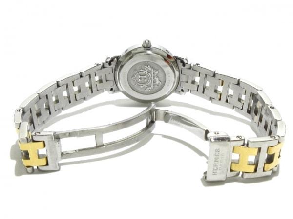 HERMES(エルメス) 腕時計美品  クリッパー CL4.220 レディース 白