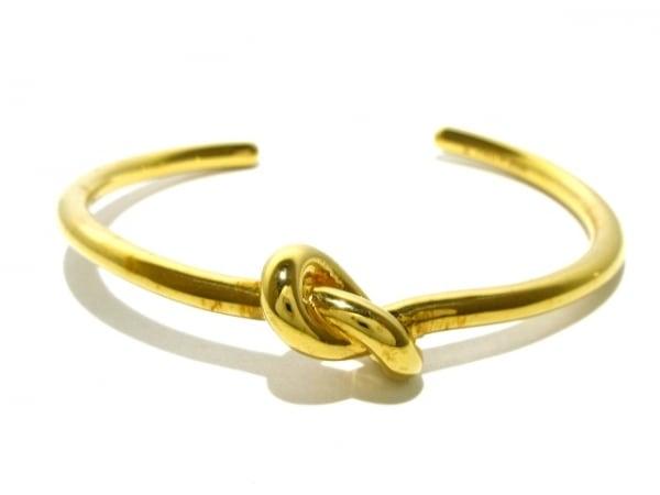 CELINE(セリーヌ) バングル 金属素材 ゴールド サイズ:S