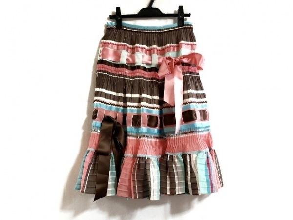 RENA LANGE(レナランゲ) スカート サイズ4 XL レディース新品同様  スパンコール