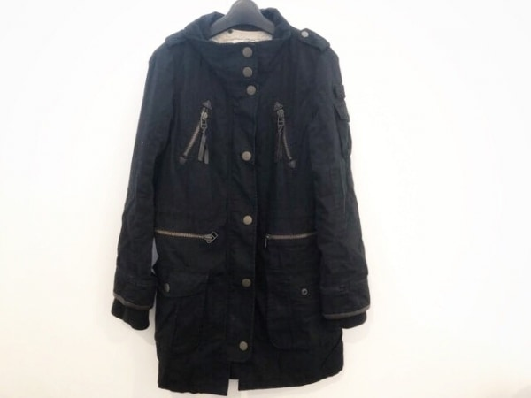 Noela(ノエラ) コート サイズ36 S レディース 黒