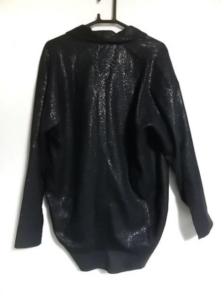 OKIRAKU(オキラク) ジャケット サイズXS レディース美品  黒 ラメ