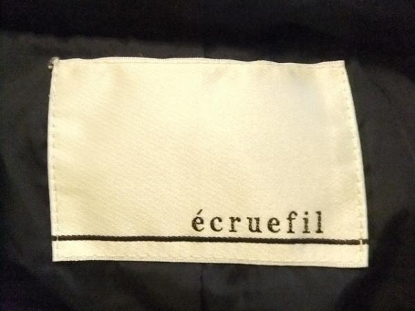 ecruefil(エクリュフィル) ダウンコート サイズ2 M レディース美品  ネイビー 冬物