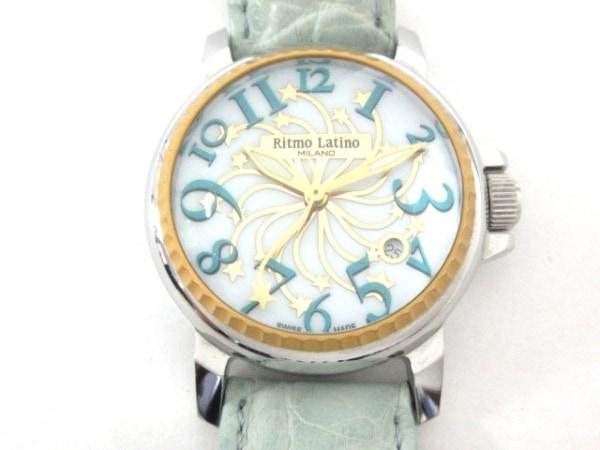 Ritmo Latino(リトモラティーノ) 腕時計美品  - レディース 白