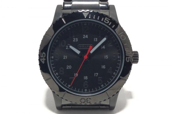 on sale 4b8a0 3f969 COACH(コーチ) 腕時計 CA.70.2.34.0714 メンズ 黒
