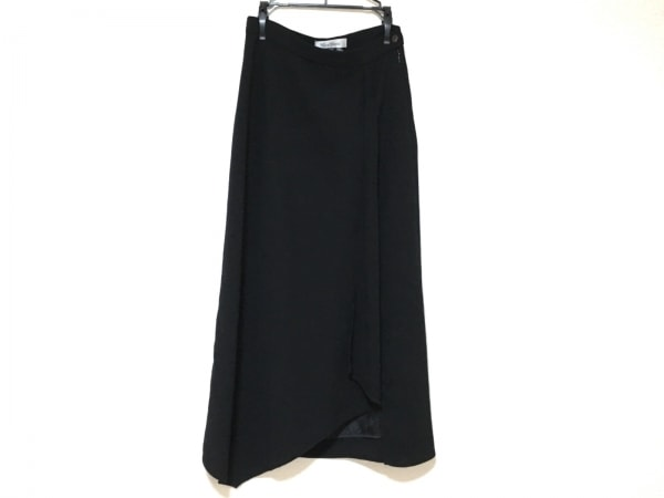 Max Mara(マックスマーラ) ロングスカート サイズ36 S レディース美品  黒