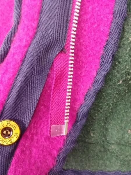 SINACOVA(シナコバ) ブルゾン サイズS メンズ ピンク×ダークグリーン×マルチ