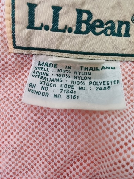 L.L.Bean(エルエルビーン) ブルゾン メンズ レッド ジップアップ