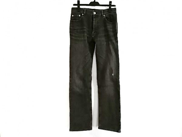 バーバリーブラックレーベル ジーンズ サイズ70 メンズ美品  黒