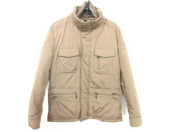 MOORER(ムーレー) ダウンコート サイズ50 メンズ美品  グレージュ 冬物