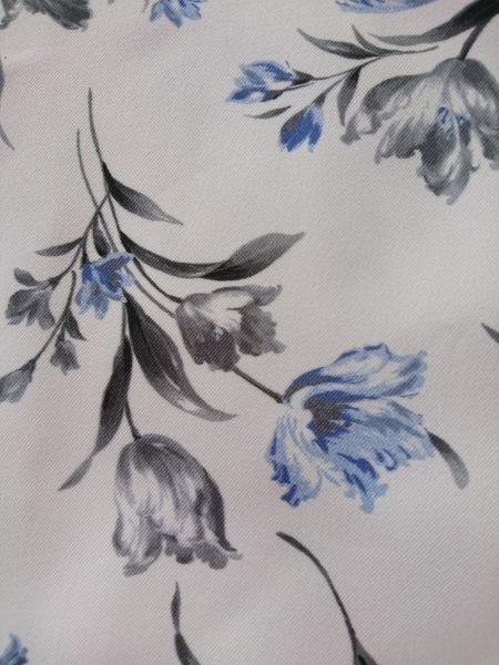 アプワイザーリッシェ スカート サイズ0 XS レディース 白×グレー×ブルー 花柄