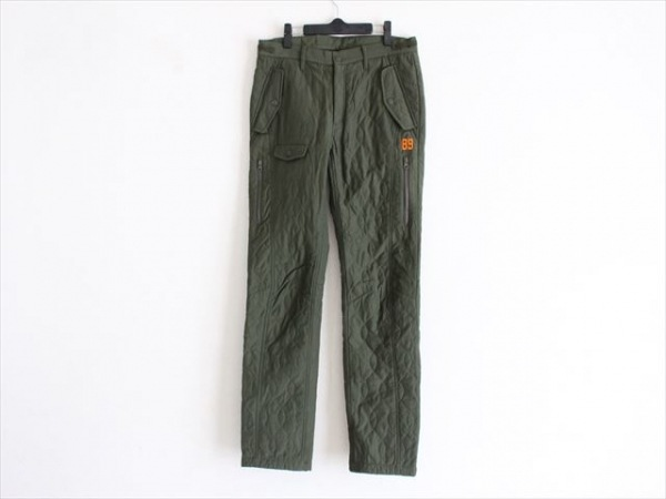 PEARLY GATES(パーリーゲイツ) パンツ サイズ5 XL メンズ美品  カーキ キルティング