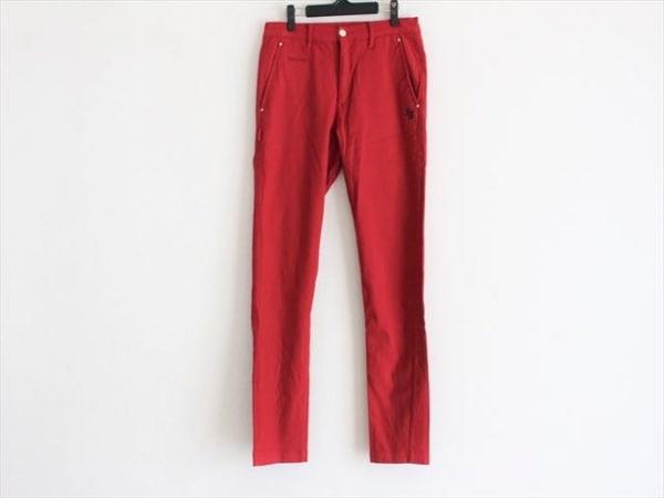 PEARLY GATES(パーリーゲイツ) パンツ サイズ5 XL メンズ美品  レッド