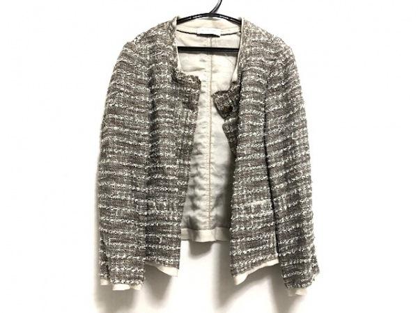 トゥルートラサルディ ジャケット サイズ38 M レディース美品  ツイード/ラメ