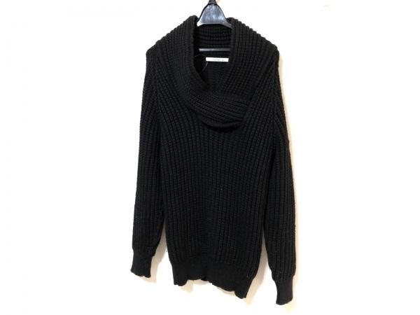 S'exprimer(セクスプリメ) 長袖セーター サイズ46 XL メンズ 黒