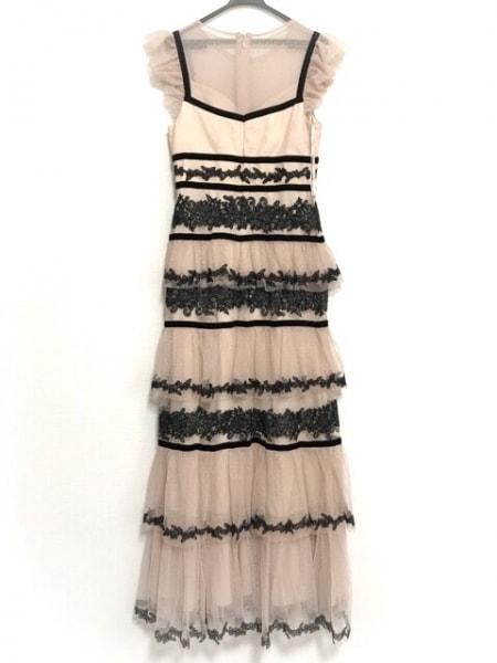 ビーシービージーマックスアズリア ドレス サイズ08 M レディース美品  ピンク×黒
